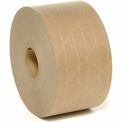 """Reinforced Paper Tape 3"""" x 500ft - Pack of 6"""