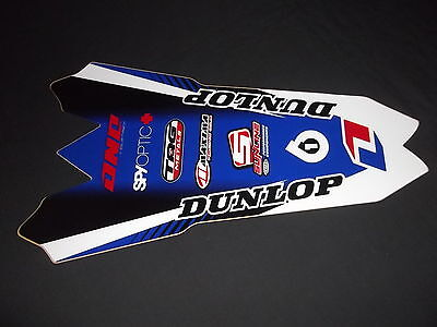 Yamaha Yzf 450 2010-2013 One Industries  Rear Guard Trim  Mx Graphics Decals