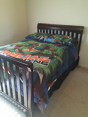 Baby Bedroom Suit (converts from crib to bed)
