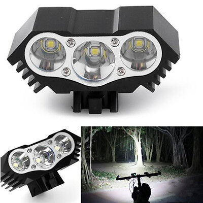 12000Lm 3 x T6 LED 3 Modes Bicycle Lamp Bike Light Headlight Cycling Torch