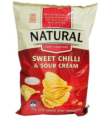 Natural Chips Sweet Chilli & Sour Cream 175g