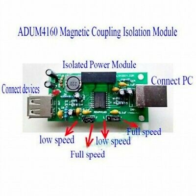 USB-Isolator-Protection-Board-Magnetic-Coupling-Isolation-Module-ADUM4160-CNC