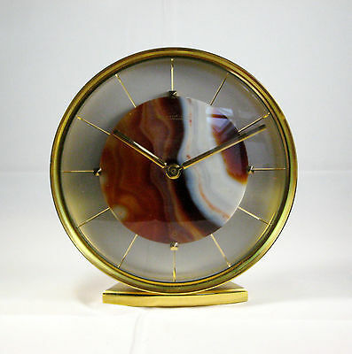 Rare Jaeger LeCoultre 8 Day Desk Clock 1970