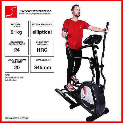 Crosstrainers Elliptical Trainers Steppers CX630 4 pulse programs