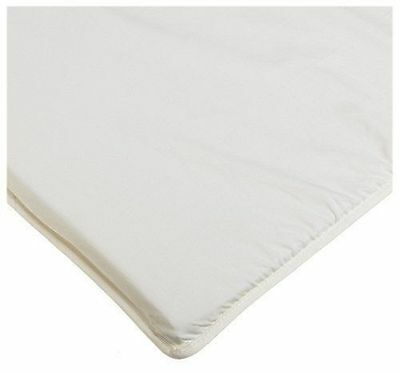 """Fitted Sheet for Arm's Reach Co-Sleeper Bassinets 100% Cotton- Natural 19""""x34.5"""""""