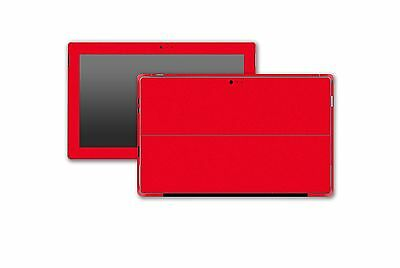 Stickerboy Microsoft Surface Pro 3 Front Back & Sides Skin Carbon Leather Metal