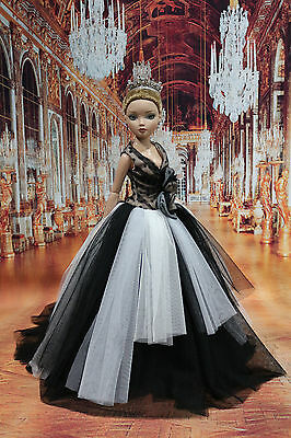 """NEW DRESS  BY T.D. outfit for 16"""" Ellowyne Wilde /TONNER DOLL 12/7/2"""
