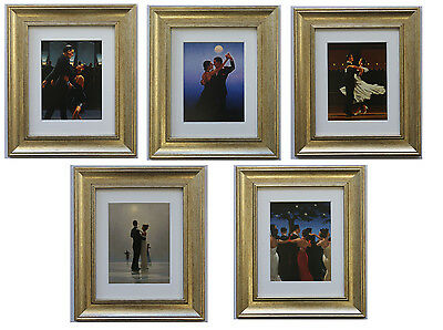 Dancers Collection by Jack Vettriano Set of 5 Framed & Mounted Art Prints