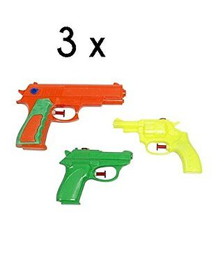3PC Small Water pistol Pool Boat Beach graden party fun Kids birthday Water Gun