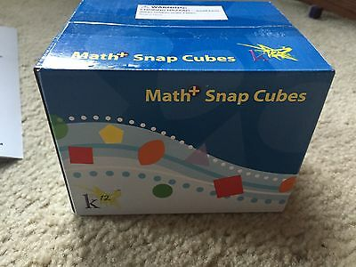 Math Manipulatives Snap Cubes Teacher Resource Homeschool New In Box
