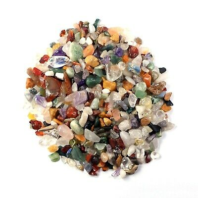 100g Natural Tumbled Crystal Chip Mix Lot (ChpMix01)