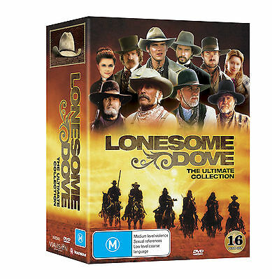 BRAND NEW Lonesome Dove Ultimate Collection (DVD, 16-Disc Set) R4