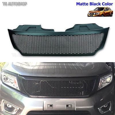 Black Net Front Grill Grille For Nissan Frontier Navara D23 Np300 UTE 2015 2016