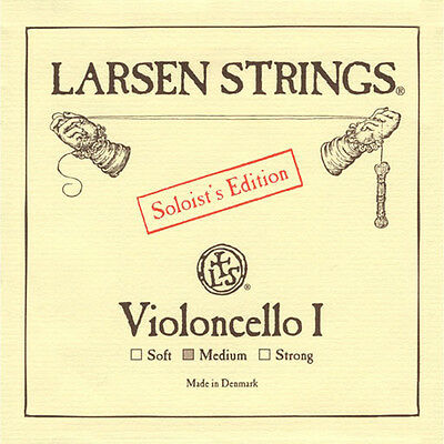 Larsen Cello Soloist A String Medium Tension 4/4 Size