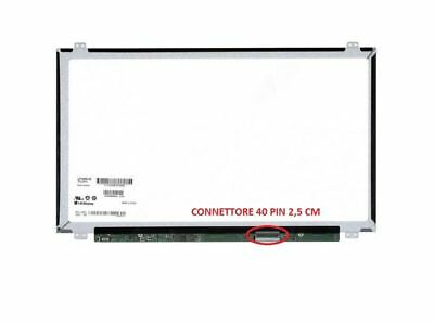 "B156XW04 v.6 Display LCD Schermo 15,6"" LED Slim 1366x768 40 pin"