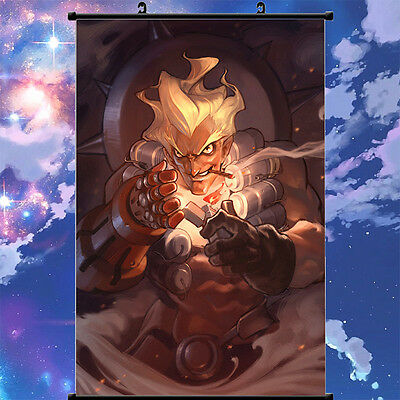 Overwatch JUNKRAT Cool Home Decor Poster Wall Scroll Painting 60cm*90cm