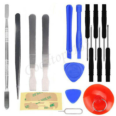 17 IN1 Mobile Repair Opening Tools Kit Set Pry Screwdriver For iPhone Cell Phone