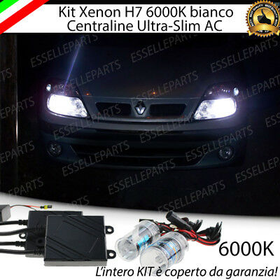 Kit Xenon Xeno H7 Ac 6000K 35W Specifico Per Renault Scenic Mk1 I No Error