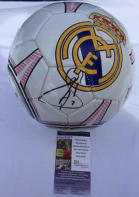 Raul Gonzalez Blanco Real Madrid Autographed Signed Soccer Ball Jsa Coa
