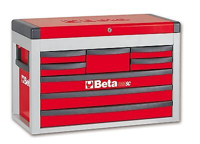 Beta C23SC 8 Drawer Portable Tool Chest / Top Box Red