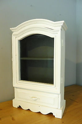 Antique French Medicine Cabinet Wall Cabinet
