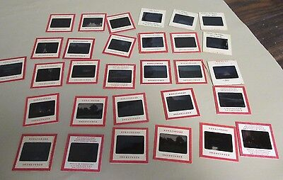 30 Vintage Kodak Kodachrome Slides-1951-OLD Union College, NY & Travel Photos