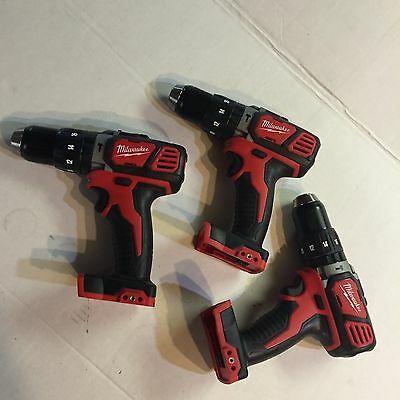 Milwaukee 2607-20 Lot of 3 M18 Hammer drills Bare tool NEW replaces 2602-20