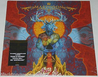 Mastodon Blood Mountain LP Special Limited Coloured Vinyl Deluxe LP NEW