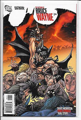 Batman: The Return of Bruce Wayne Complete Set 1-6 Grant Morrison DC Comics 2010