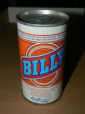 Vintage Empty BILLY BEER Can Cold Spring Brewing Co. MN Minnesota 12 oz carter