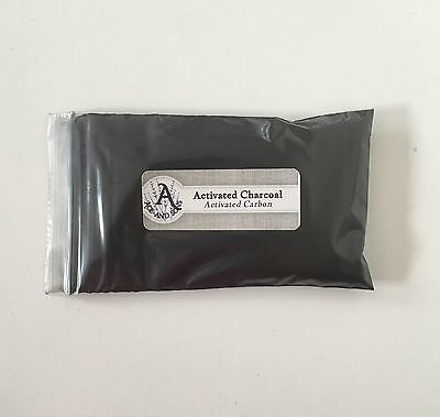 1 oz. Activated Charcoal Powder (Activated Carbon) <28 g / .063 lb> Food Grade