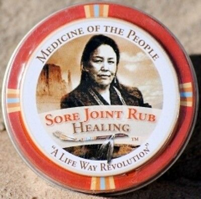 Navajo Medicine Of The People Sore Joint Arthritis Muscles Pain 0.75 oz POW WOW