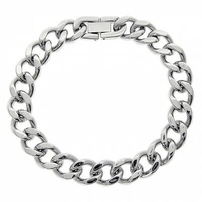 Men's Stainless Steel Chain Bracelet, 9''. Shipping Included