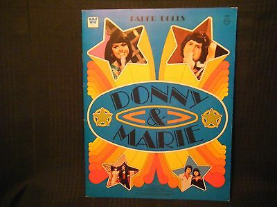 Donny and Marie Paper Dolls 1977