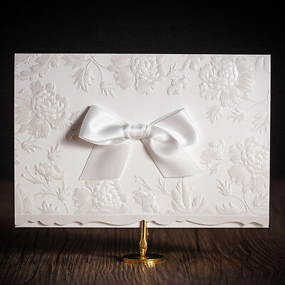 Free Personlized White Laser Cut Wedding Party Invitation Cards,Envelope Seals