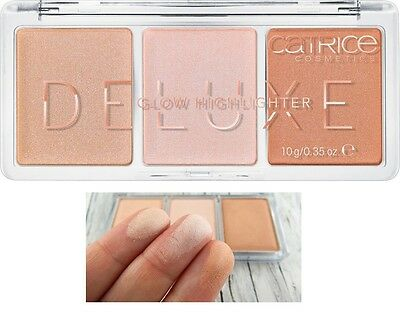 CATRICE Deluxe Glow Highlighter (010 The Glowrious Three ) NEU&OVP