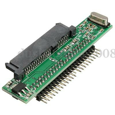2.5'' Serial SATA HDD TO 44 Pin Male IDE Adaptateur Converter Pr Laptop Notebook