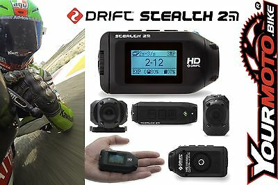 Drift Stealth 2 1080p HD Action Sports Motorcycle Lightweight Helmet Camera