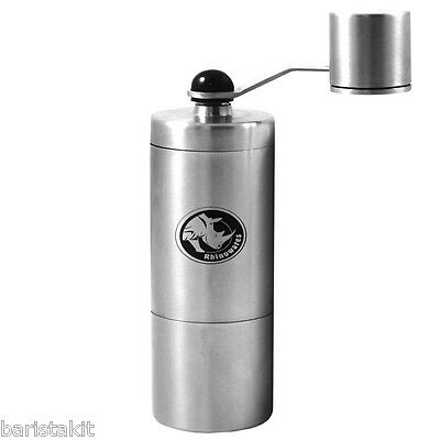 Rhinowares -  Compact Hand Coffee Grinder - Designed For Aeropess