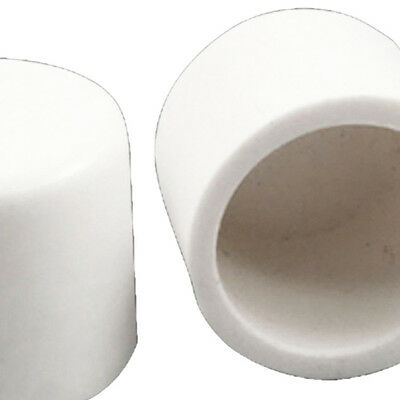 5 Pcs 20mm Water Pipe Fittings PVC Slip End Caps Covers White S*