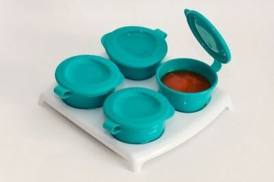 Tommee Tippee Explora Pop Up Freezer Pots and Tray 4m+ Blue - 446500
