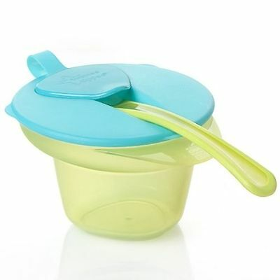Tommee Tippee Explora Cool N Mash Weaning Bowl 4m+ Blue - 446702