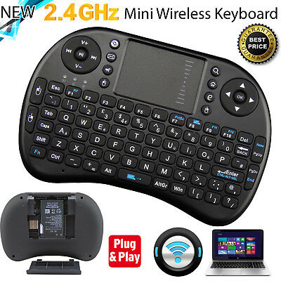 2.4G Wireless Air Keyboard Mouse Qwerty Remote Touchpad XBMC Android TV BOX PC