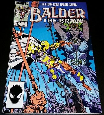 Balder the Brave #1 (Nov 1985, Marvel)