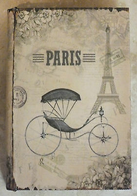 Book Box With Paris On The Front