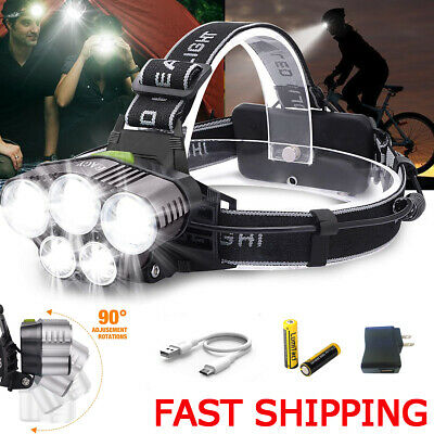 Phixton 5000LM 5Modes ZOOM XML T6 LED 18650 Police Tactical Flashlight Torch NEW
