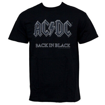 AC/DC Band T-Shirt - Back in Black