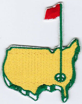 Augusta The US Masters Tournament PGA Golf Badge Iron On Embroidered Patch
