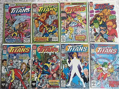 The New Titans Lot w complete run 90-100 + Annuals 5-11 Rare #99 Teen 1st Origin