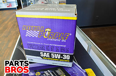 Royal Purple High Performance SAE 5W-30 Full Synthetic Oil 6 Quart QT Case 06530